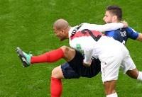 فرانسه ۱ - پرو ۰/ برتری یک نیمهای با گل امباپه