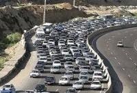 ترافیک نیمه سنگین در جاده چالوس/ جزئیات مسدود بودن ۶ محور مواصلاتی کشور
