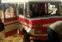 حوادث امروز محور ساوه همدان ۲۶ مجروح برجای گذاشت