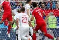 سوئیس ۲ - ۱ صربستان / بازگشت بزرگ سوئیس