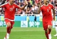 پایان نیمه اول/ برتری نزدیک صربستان مقابل سوئیس