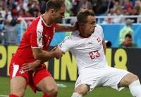 ویدئو / خلاصه دیدار صربستان و سوئیس در جام ۲۰۱۸
