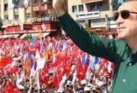 اردوغان پیروزی خود را در انتخابات ریاست جمهوری ترکیه اعلام کرد