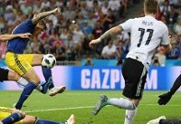 آلمان ۱- سوئد ۱/ ژرمنها به بازی برگشتند