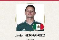 بهترین بازیکن دیدار مکزیک و کرهجنوبی