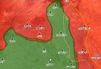 پیشروی ارتش سوریه در جنوب شرق این کشور/۷ شهر از اشغال تروریستها آزاد شد