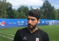 انصاریفرد: بازی با پرتغال حساسترین مسابقه تاریخ فوتبال ایران است