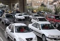 وضعیت ترافیکی محورهای داخلی و بزرگراهی تهران