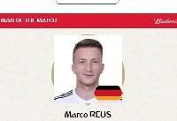 بهترین بازیکن دیدار آلمان و سوئد