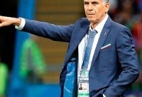 اصرارکیروش به تصمیمات دوگانه داور اروگوئه بعداز۵۰۰بار تماشای گل عزتاللهی