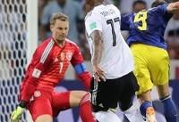 آلمان و سوئد | دقیقه ۹۵؛ تیر خلاص کروز؛ آلمان دو - سوئد یک