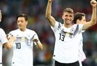 آلمان ۲ - سوئد یک/ بازگشت دراماتیک ژرمنها به جام