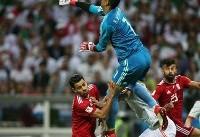 جامجهانی/ بیرانوند در کنار رونالدو و مودریچ در تیم منتخب جام جهانی