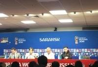 نشست خبری سرمربی تیم ملی پرتغال پیش از بازی با ایران