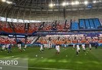 ویدئو / تمرین تیم ملی فوتبال ایران، پیش از بازی با پرتغال