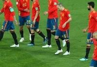 اسپانیا یک مراکش یک/ اتمام نیمه اول
