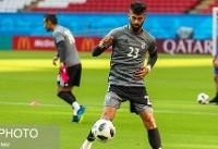 رامین رضاییان در تیم منتخب هفته دوم جام جهانی ۲۰۱۸ روسیه قرار گرفت