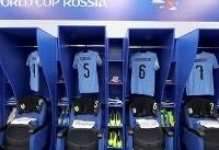 ترکیب تیمهای روسیه و اروگوئه اعلام شد