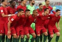 پایان نیمه نخست/ گل پرتغال به تیم ملی ایران در دقیقه ۴۵
