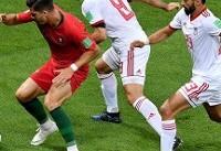 جام جهانی ۲۰۱۸/ شکست یک نیمهای ایران برابر پرتغال