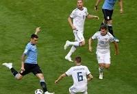 جامجهانی/ روسیه ۰-۳ اروگوئه؛ تحقیر میزبان به دست زوج رویایی لاسلسته