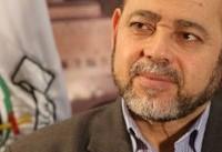 ابومرزوق: روسیه مخالف «معامله قرن» است/ به ایران سفر خواهیم کرد