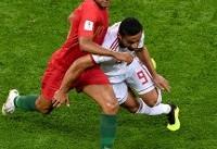 جام جهانی ۲۰۱۸/ ایران یک- پرتغال یک؛ حذف از جام به خاطر یک امتیاز