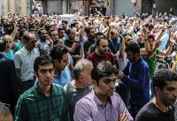 Protests in Iran as Rouhani says US wants 'economic war'