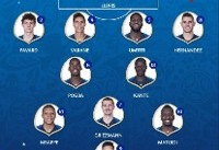 معماری دو تیم فرانسه و بلژیک در بازی نیمه نهایی