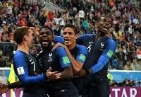 صعود فرانسه به فینال جام جهانی بعد از ۱۲ سال