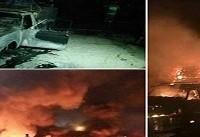 شاهدان عینی از سانحه شب گذشته در سنندج میگویند + فیلم
