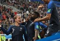 فرانسه اولین فینالیست جام جهانی  شد