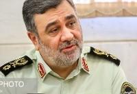 پیام فرمانده ناجا در پی حادثه تروریستی در اهواز/نیروهای مسلح پاسخ دندان شکنی خواهند داد