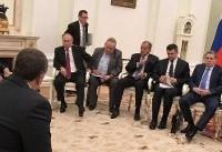 دیدار نخست وزیر رژیم صهیونیستی با رئیس جمهور روسیه