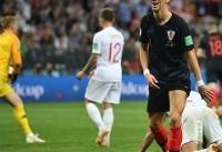 پرشیچ بهترین بازیکن دیدار کرواسی و انگلیس