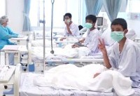 Thai boys were sedated and stretchered from cave in dramatic rescue