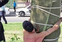 GRAPHIC PHOTO: Iran slammed for 'shocking' flogging of man convicted for drinking alcohol as a teen