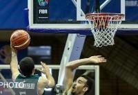 شکست دومین نماینده میزبان ویلیام جونز برابر بسکتبالیست های امید ایران