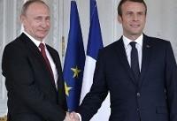 روسای جمهور فرانسه و روسیه امروز  درباره مسائل مربوط به ایران  و سوریه ...