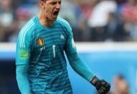 کورتوا دستکش طلایی جام جهانی را به دست آورد