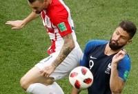 فینال جام جهانی در مسکو/ کرواسی ۱ - ۱ فرانسه