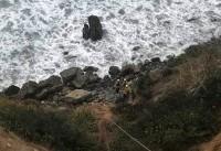 زن آمریکایی یک هفته پس از سقوط از پرتگاه زنده پیدا شد