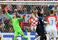 نخستین گل به خودی فینال ادوار جام جهانی فوتبال