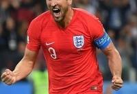 هری کین با ۶ گل زده آقای گل جام جهانی ۲۰۱۸ شد