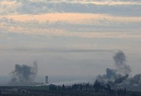 Syria state media says Israel bombs military post in Aleppo