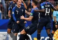 گریزمان  بهترین بازیکن کرواسی - فرانسه شد
