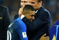 Emmanuel Macron pictured in emphatic celebration as France lift World Cup in Russia