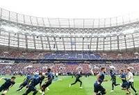 دیدار کرواسی - فرانسه نهصدمین بازی تاریخ جام جهانی