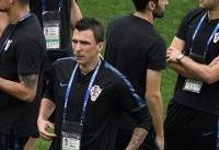 آغاز فینال جام جهانی در مسکو/ کرواسی صفر - فرانسه صفر