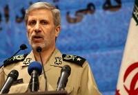 وزیر دفاع: متناسب با نوع تهدیدها، نیروهای مسلح را پشتیبانی میکنیم